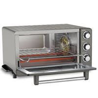 Cuisinart TOB-60N1BKSFR (Refurbished) Toaster Oven Broiler with Convection - Black Stainless