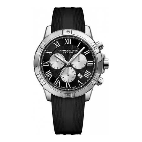 Raymond Weil 8560-SR-00206 Men's Tango Black Quartz Watch