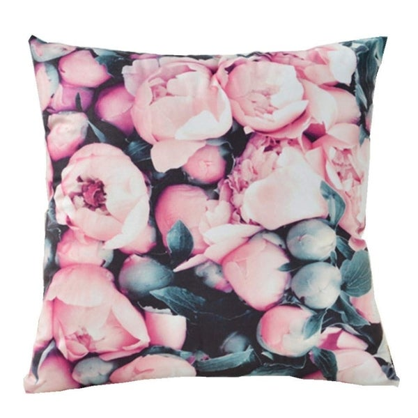 """Accent Pillows Cover,18"""" x 18"""" Throw Pillow Covers Floral"""