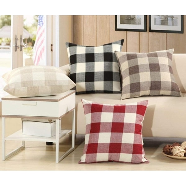 Throw Pillow Covers for Car Office Sofa Home Decoration