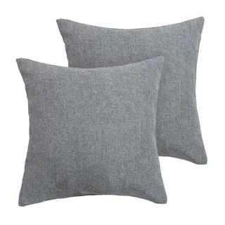 Faux Linen Throw Cushion Case Pillow Cover Netural Grey