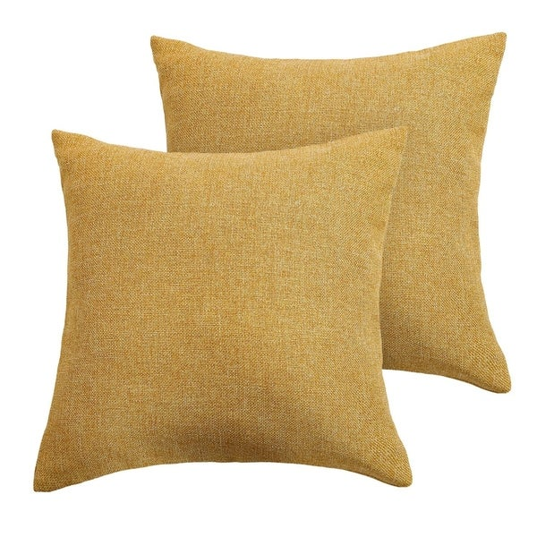 Decorative Hand Made Pillow Case Cushion Cover Turmeric
