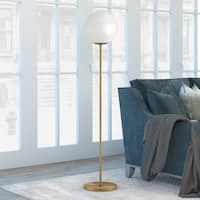 Theia Glam Globe Style Floor Lamp (Optional Finishes)
