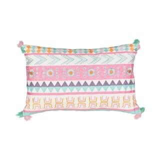 Waverly Kids La La Llama Embroidered Decorative Pillow