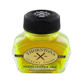 Thornton's Luxury Goods Fountain Pen Ink Bottle, 30ml - Choice of Color