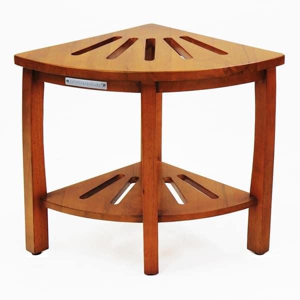 Fabulous Shop Oceanstar Corner Spa Shower Bench Seat With Storage Ibusinesslaw Wood Chair Design Ideas Ibusinesslaworg