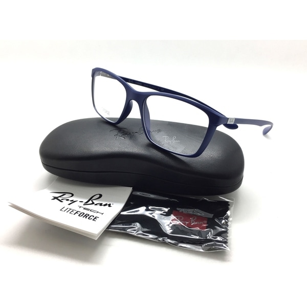 ec0d2e9dd6 Ray Ban Eyeglasses RB7036 RB 7036 5439 Blue RayBan Full Rim Optical Frame  55mm