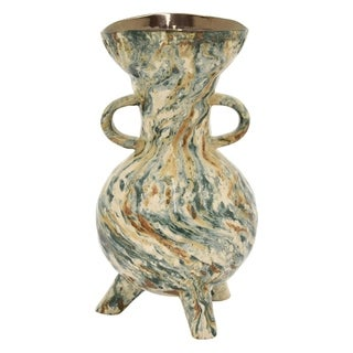 Three Hands Ceramic Vase