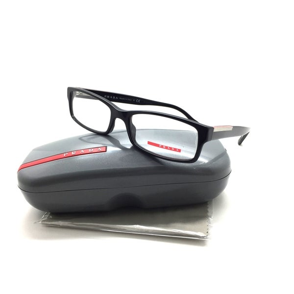 661aa5451d36 Shop Prada Sport Vps 10a 1ab-1o1 Black Authentic Rx Eyeglasses 54-17-140 -  Free Shipping Today - Overstock - 23574011