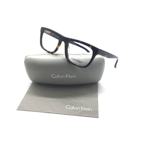 230ae78cfecf Shop Calvin Klein Men's Eyeglasses Ck5925 214 Retro Glasses 52-20-140  Tortoise - Free Shipping Today - Overstock - 23574090