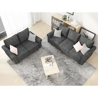 Omar 2 Piece Living Room Set