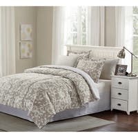 Brown & Grey™ Camille 8-piece Bed-In-Bag Set