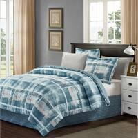 Brown & Grey™ Kelsey 8-piece Bed-In-Bag Set