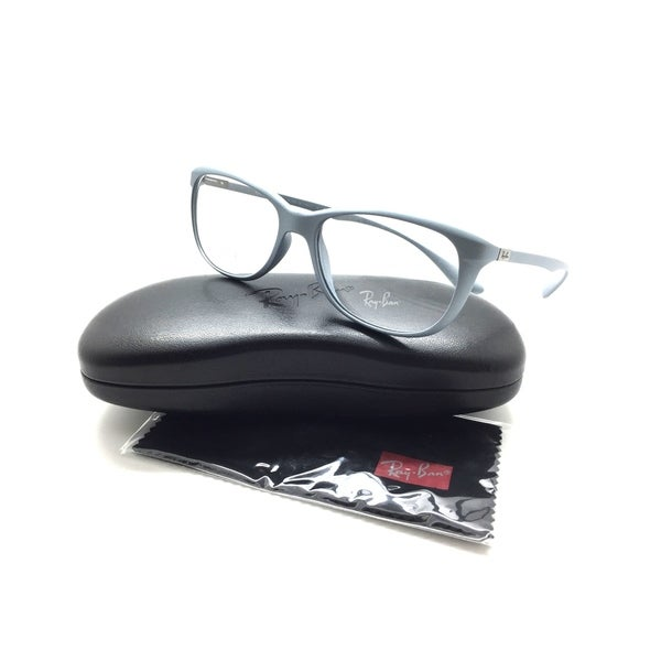 4906da1aa9 Shop Ray Ban RB 7024 5251 LITEFORCE Matte Silver 54mm RX Eyeglasses ...