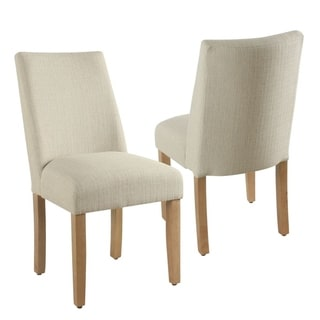 The Gray Barn Dragonfly Curved Back Stain-resistant Textured Linen Single Dining Chair