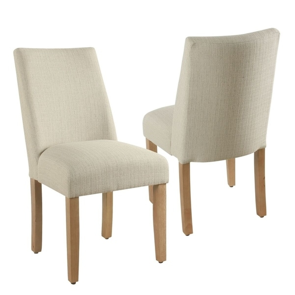 The Gray Barn Dragonfly Curved Back Stain-resistant Textured Linen Single Dining Chair. Opens flyout.