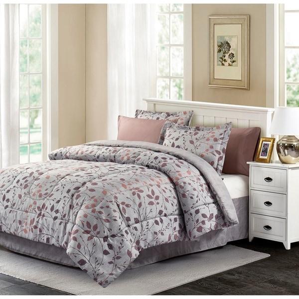 Brown & Grey™ Jean 8-Piece Bed-In-Bag Set