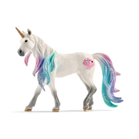 Schleich Bayala, Sea Unicorn Mare Toy Figurine