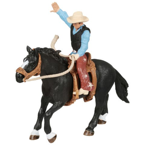 Schleich Farm World, Rodeo Series Horse and Rider Toy Figure