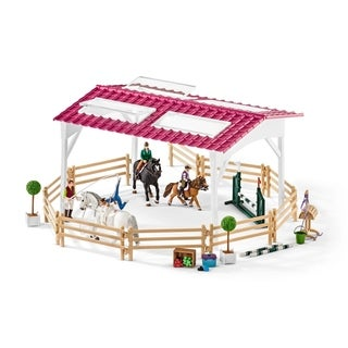 Schleich Horse Club, Riding School with Horses and Riders Toy Figure