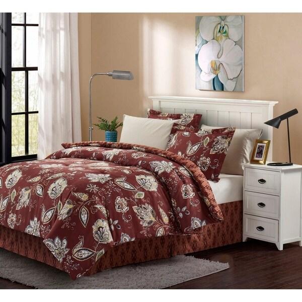 Brown & Grey™ Joanna 8-Piece Bed-In-Bag Set