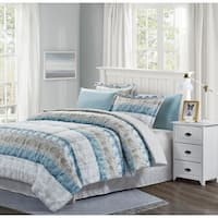 Beige, Blue & Grey™ Raphael 8-Piece Bed-In-Bag Set