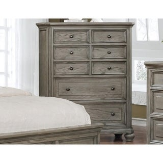 Best Master Furniture Antique Grey 8 Drawer Chest