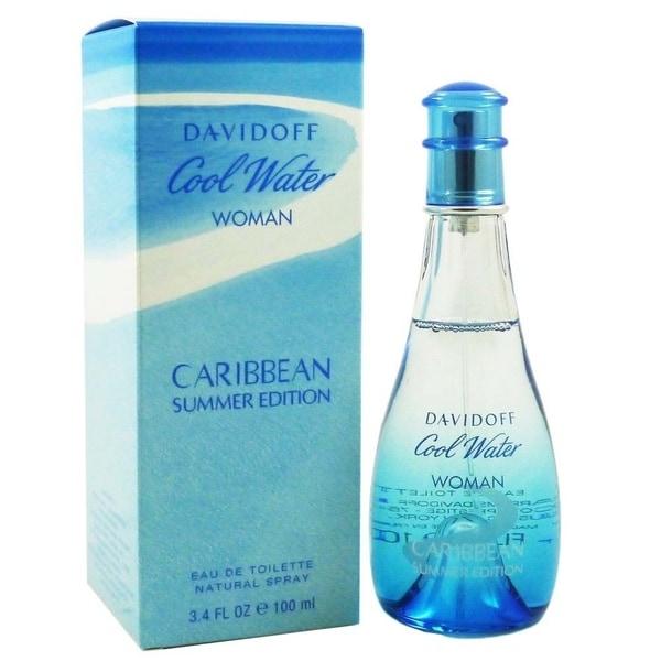 707c046bb2c1 Shop Zino Davidoff Cool Water Caribbean Summer Women's 3.4-ounce Eau ...