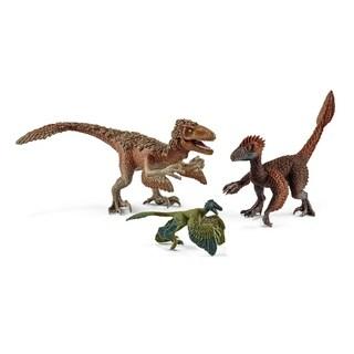 Schleich Dinosaur, Feather Raptors Multipack (3 pc) Toy Figure