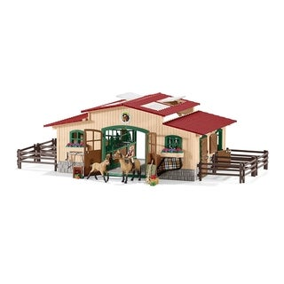 Link to Schleich Farm World, Horse Stable Set Similar Items in Action Figures