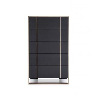 Nova Domus Cartier Modern Black & Brushed Bronze Chest
