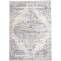 Grand Bazaar Tirza Cream/Multi (4' x 6') - 4' x 6'