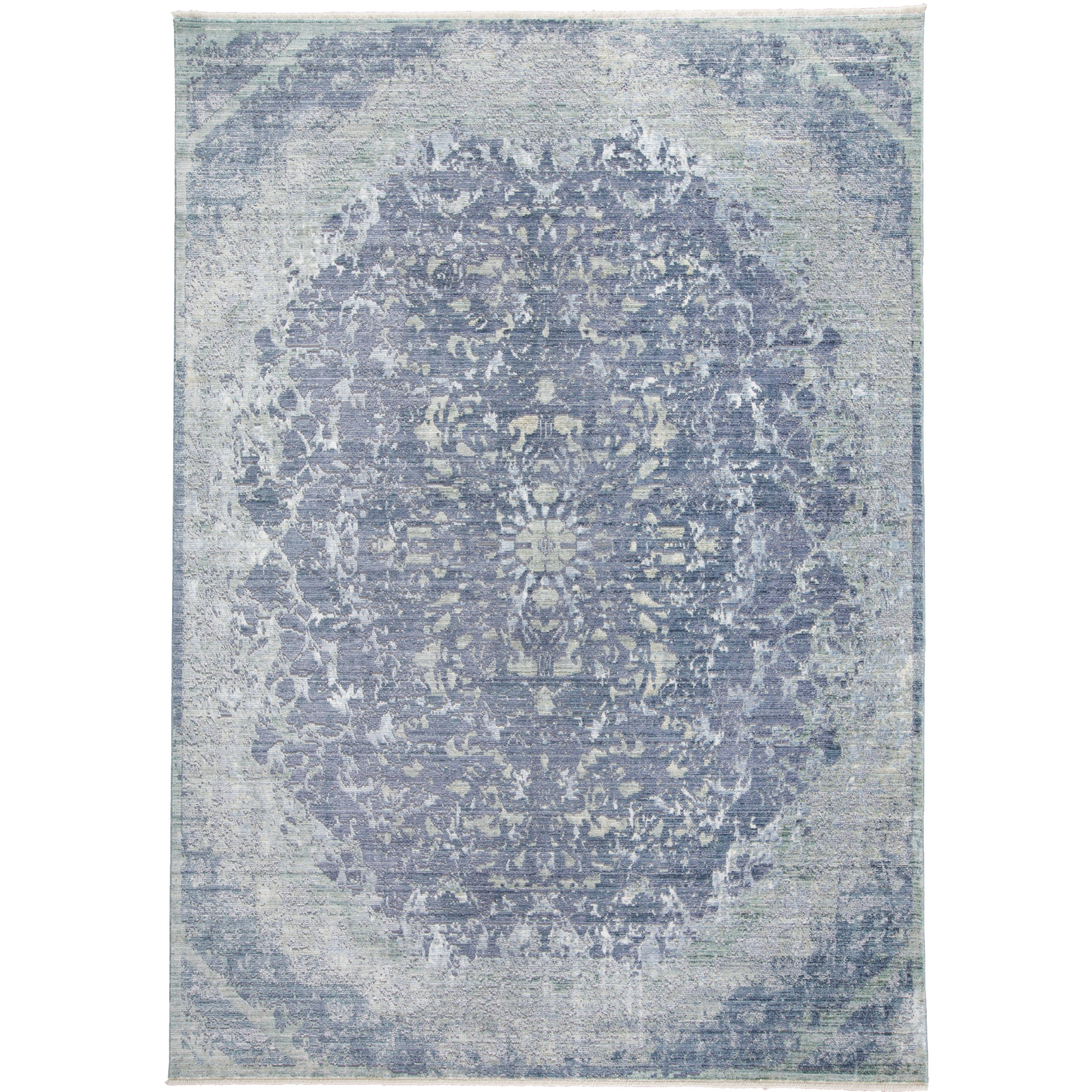 Grand Bazaar Tirza Blue/Turquoise Rug (4 x 6) - 4 x 6 (Blue/Turquoise - 4 x 6)