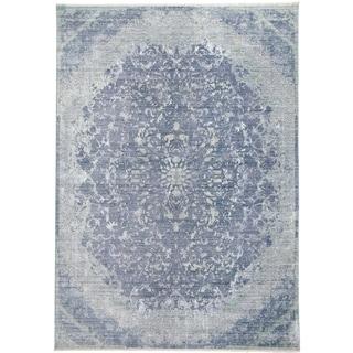 Grand Bazaar Tirza Blue/Turquoise Rug (4' x 6') - 4' x 6'