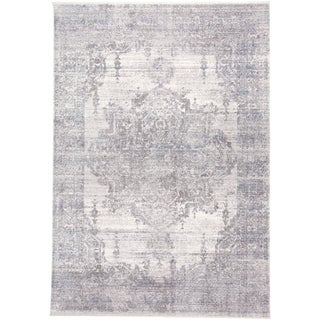 Grand Bazaar Tirza Gray Rug (3' x 5') - 3' x 5'