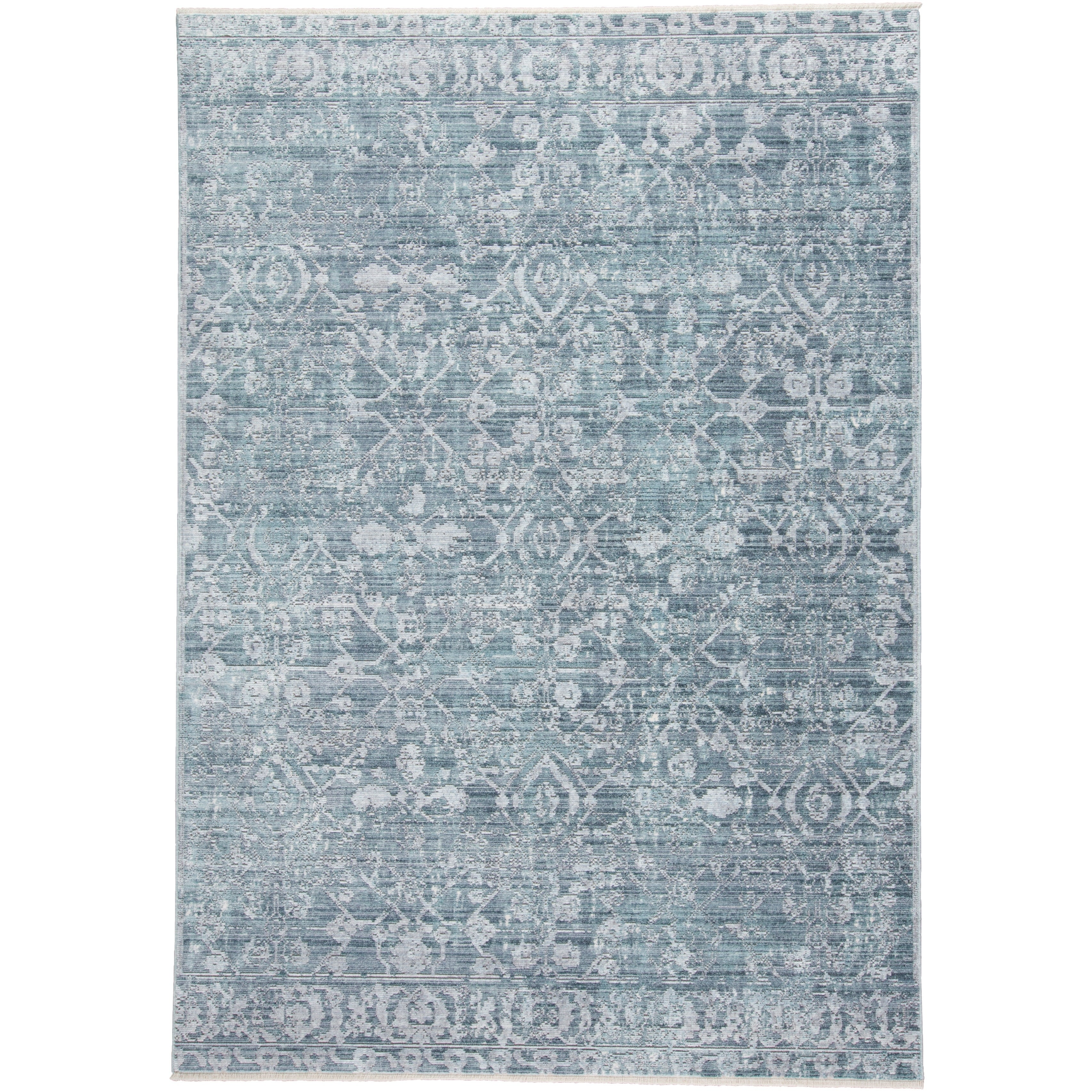Grand Bazaar Tirza Blue/Turquoise - 5 x 8 (Blue/Turquoise - 5 x 8)