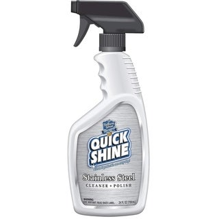 Quick Shine Prime Stainless Steel Cleaner and Polish, 24 Ounce Spray Bottle (Pack of 6 Bottles)