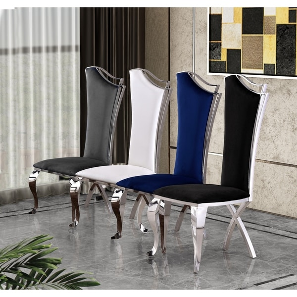 Shop Best Quality Furniture Luxe Upholstered Dining Accent