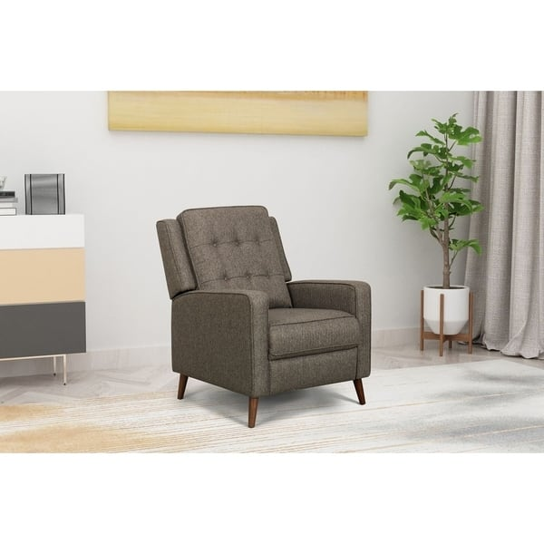 Marvelous Shop Homepop Modern Recliner On Sale Free Shipping Today Pabps2019 Chair Design Images Pabps2019Com