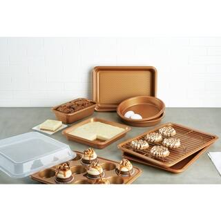 Ayesha Bakeware Set, Copper, 10-Piece - copper