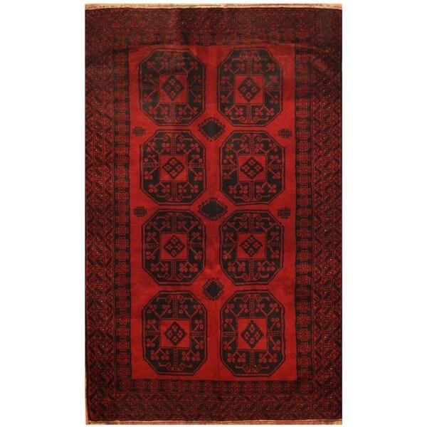 Handmade Balouchi Wool Rug (Afghanistan) - 3'7 x 5'9