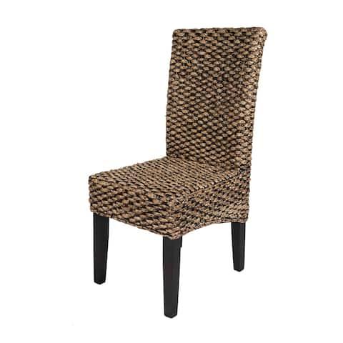 StyleCraft Parson Warm Water Hyacinth Chairs (Set of 2)