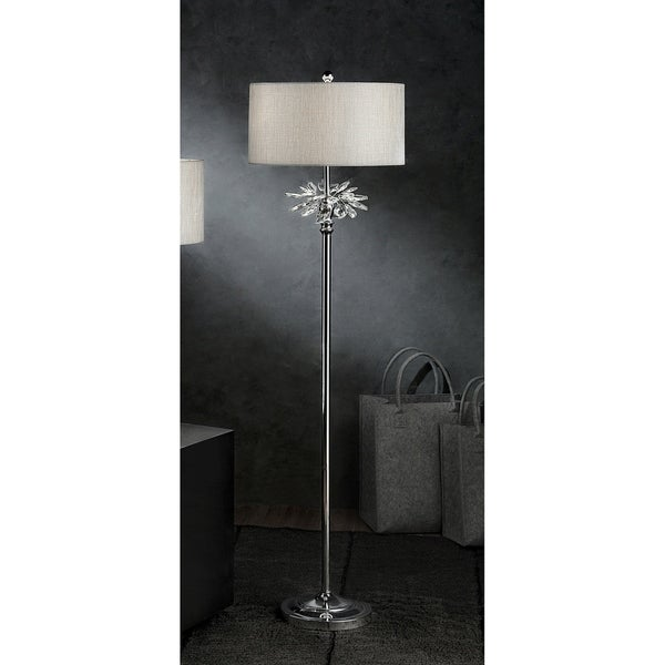 Shop Ayana Starburst Crystal Silver Table Lamp On Sale Free