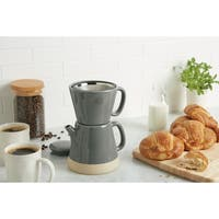 Rachael Ray Ceramic 5-Cup Pour-Over Coffee Set