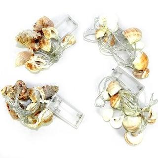 Essential Decor & Beyond 10 Light Seashell String Light Set EN12274 - 53 inches