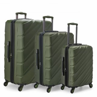 U.S. Traveler Gilmore 3-Piece Expandable Hardside Spinner Luggage Set