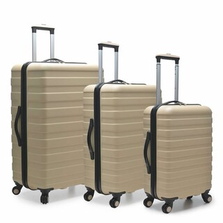 U.S. Traveler Cypress Colorful 3-Piece Hardside Spinner Luggage Set