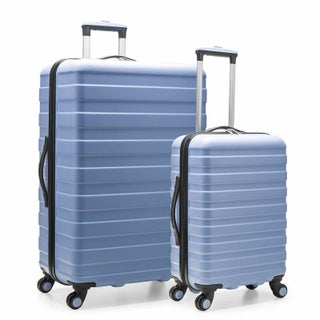 U.S. Traveler Cypress Colorful 2-Piece Hardside Spinner Luggage Set