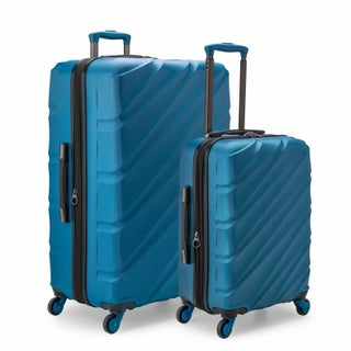 U.S. Traveler Gilmore 2-Piece Expandable Hardside Spinner Luggage Set