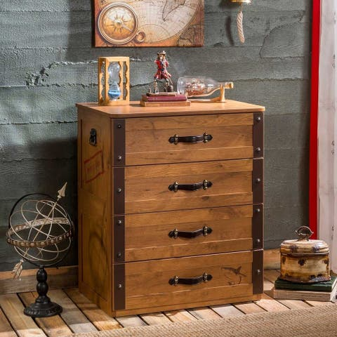 Cilek Pirate Chestnut 4-drawer Chest